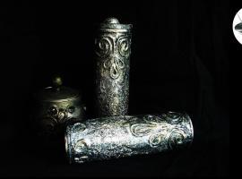 Jak zrobić pojemnik z efektem starego srebra