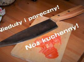 Jak zrobić nóż kuchenny ze starej piły