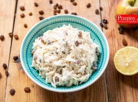 Jak zrobić surówkę do obiadu - przepis na seler