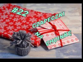 Jak zrobić świąteczną czapeczkę - ozdobę na choinkę
