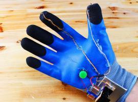 Jak zrobić świecącą rękawiczkę