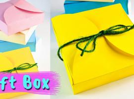 Jak zrobić pudełko na upominek