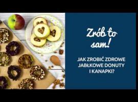 Jak zrobić zdrowe i pyszne jabłkowe donuty i kanapki