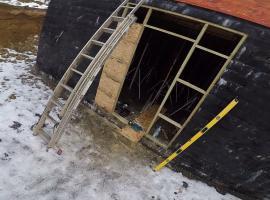 Jak zrobić drzwi tymczasowe do budowy