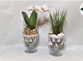 Jak zrobić kwiatki w koronkowych kieliszkach w 5 min