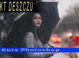 Jak wykonać efekt deszczu w Adobe Photoshop