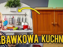Jak przerobić starą szafkę - kuchenka dla dzieci