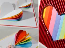 Jak zrobić kartkę z sercami