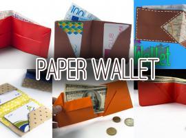 Jak zrobić portfel origami - 6 najlepszych pomysłów