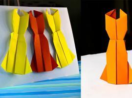 Jak zrobić sukienkę z papieru