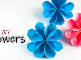 Jak zrobić proste kwiaty z papieru na ozdoby