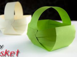Jak zrobić koszyk z papieru