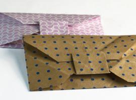 Jak zrobić dekoracyjną kopertę z papieru