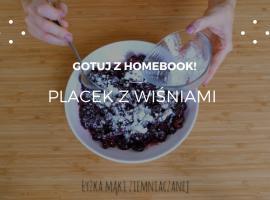 Jak zrobić coś dobrego - domowy placek z wiśniami