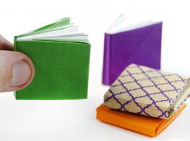 Jak zrobić notes z papieru - origami