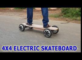 Jak zrobić elektrycznego longboarda 4x4