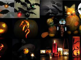 Jak wykonać straszne halloweenowe dekoracje - 11 pomysłów
