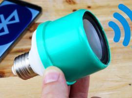 Jak zrobić głośnik bluetooth w żarówce