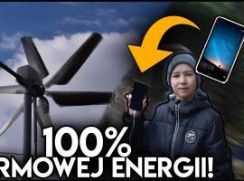 Jak za darmo naładować smartfona - turbina wiatrowa
