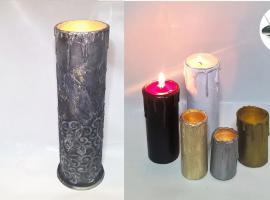 Jak zrobić bezpieczne świeczki
