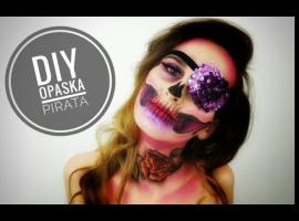 Jak zrobić prebranie na halloween - opaska pirata