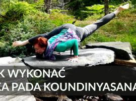 Jak ćwiczyć jogę - eka pada koundinyasana 2