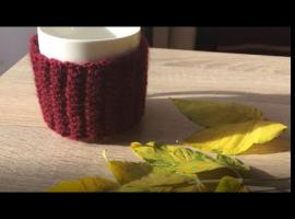 Jak zrobić sweterek na kubek - upgrade kubka