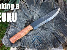 Jak wykonać prezent dla myśliwego - nóż leuku