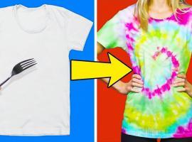 Jak przerobić zwykły t-shirt - paczka pomysłów