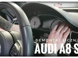 Jak zdemontować licznik AUDI A8 S8