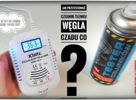 Jak przetestować czujnik tlenku węgla i gazu