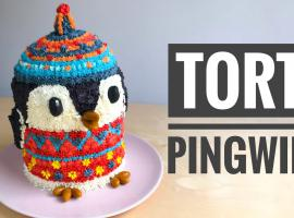 Jak zrobić bajeczny tort dla dzieci - tort pingwinek