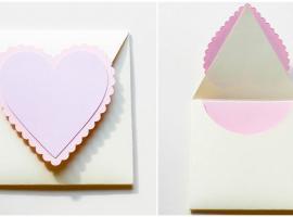 Jak wykonać kopertę walentynkową