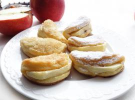 Jak wykonać serowe ciasteczka z jabłkiem