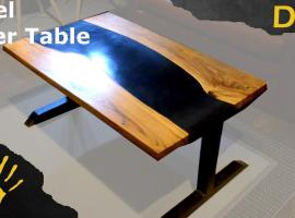 Jak wykonać stolik w stylu river table