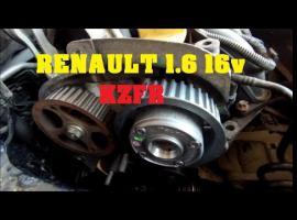 Jak wymienić koło zmiennych faz rozrządu - Renault Megane 2 1.6 16V