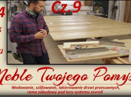 Jak wykonać wodowanie, szlifowanie oraz lakierowanie drzwi