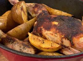 Jak zrobić kurczaka z gruszkami