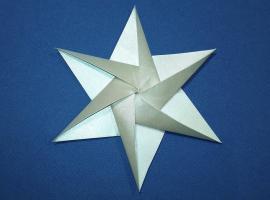 Jak wykonać gwiazdkę origami 3D - świąteczne dekoracje