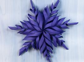 Jak wykonać świąteczną ozdobę z papieru nie tylko na choinkę