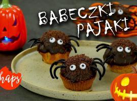Jak tworzyć tematyczne babeczki - dyniowe pająki