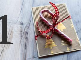 Jak wykonać kartkę świąteczną z niespodzianką