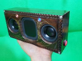 Jak zbudować głośnik bluetooth w drewnianym pudełku