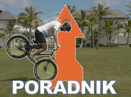 Jak wykonać triki na rowerze - skakanie na przednim kole