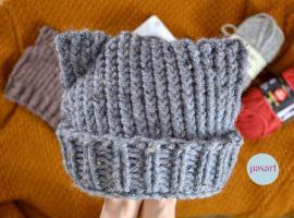 Jak zrobić czapkę z kocimi uszami