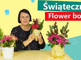 Jak wykonać flower box na święta