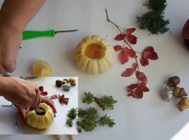Jak wykonać jesienną dekorację