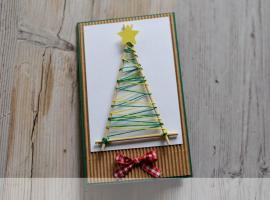 Jak wykonać zaskakującą kartkę świąteczną