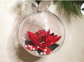 Jak zrobić gwiazdę betlejemską w bombce - świąteczne dekoracje