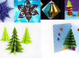 Jak wykonać papierowe ozdoby - 9 pomysłów